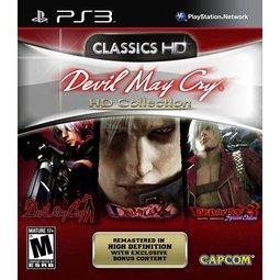 PS3 DMC惡魔獵人HD三合一高畫質合輯 Devil May Cry Collection -英日文美版-