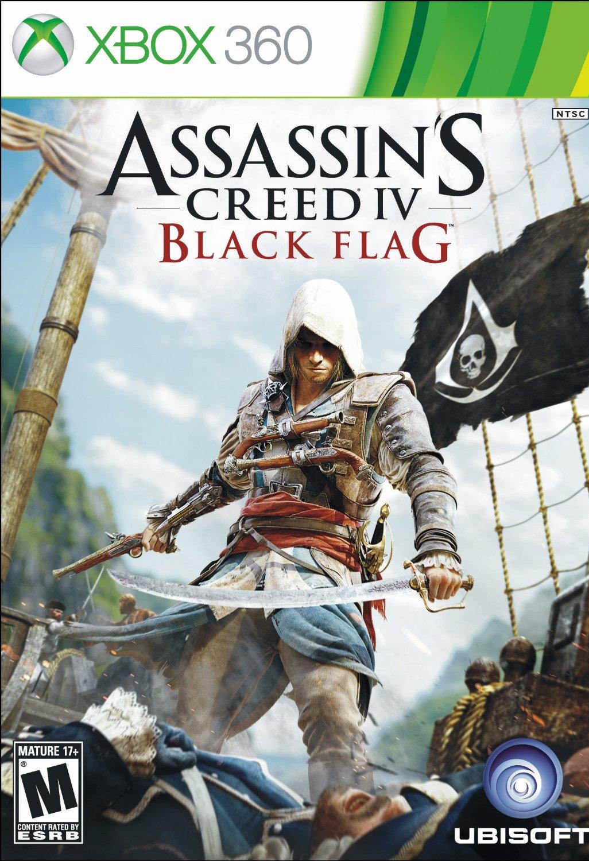 XBOX 360 刺客教條4:黑旗 -英文美版- Assassin\
