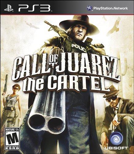 PS3 荒野雙蛟龍(俠盜快槍手3):卡特爾 Call of Juarez:the Cartel -英文美初版-