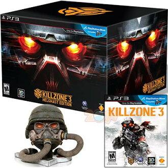 PS3 Killzone3 殺戮地帶3 赫爾蓋斯特豪華收藏限定版 (相容3D與Move)-中英文美版-