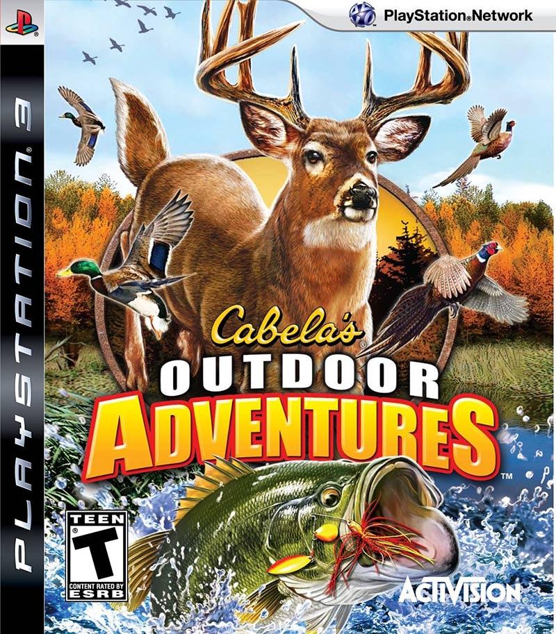 PS3 坎貝拉戶外狩獵與釣魚冒險 -英文美版- Cabela's Outdoor Adventures