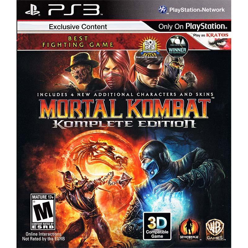 PS3 真人快打9完整版 Mortal Kombat:Komplete Edition -英文白金版-