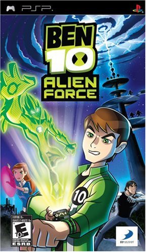 PSP Ben10 田小班少年駭客外星英雄 Alien Force -英文美版-