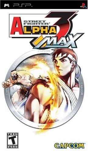 PSP 快打旋風Alpha 3 MAX Street Fighter 3 MAX -英文美版-