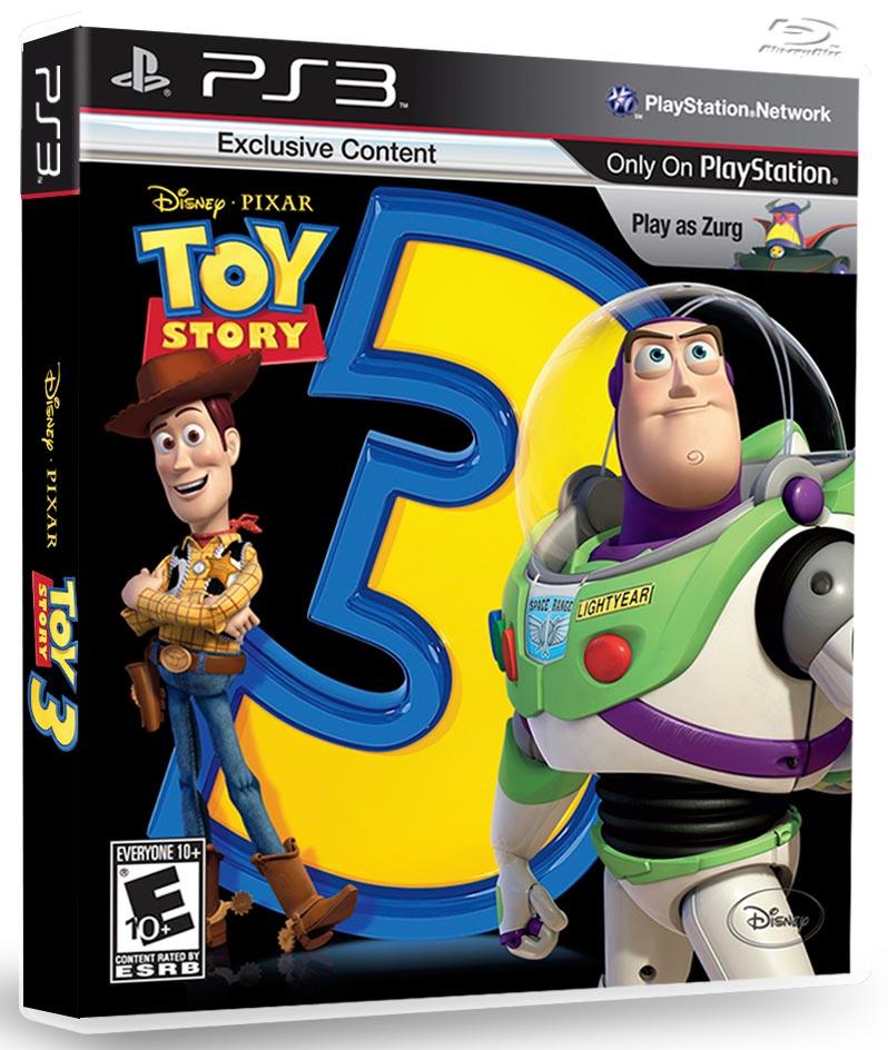 PS3 玩具總動員3 Toy Story 3 (巴斯+胡迪)-英文美版-