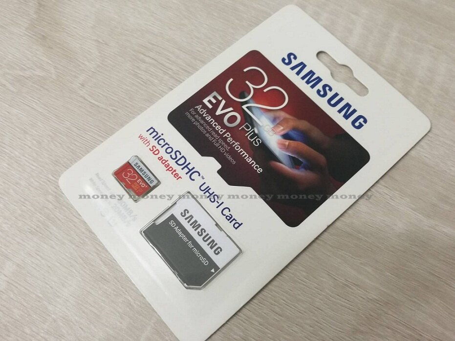 Samsung 三星 EVO Plus Class10 microSDHC 32GB記憶卡/附轉卡【馬尼行動通訊】