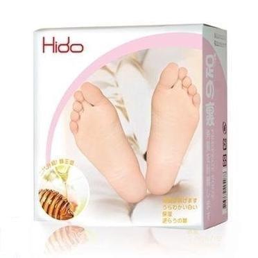 HIDO 蜂王漿乳酸煥膚足膜(4雙入)【櫻桃飾品】【26957】