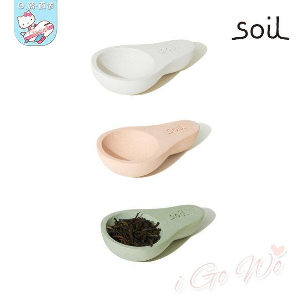 日本 Soil 硅藻土 湯匙 茶匙