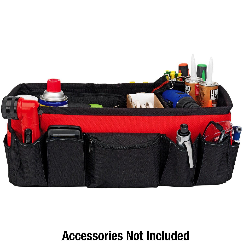 Powerbuilt 21-Inch Car Trunk Tool Storage Carrier Organizer Bag - 642412 3