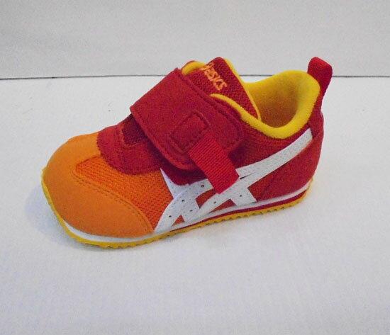 [陽光樂活]ASICS 亞瑟士 紅X橘 童鞋 IDAHO BABY GR-ES 2 TUB159-09GR【12/1-31 單筆滿2000結帳輸入序號 XmasGift-outdoor 再折↘250 ..