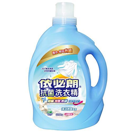 依必朗抗菌洗衣精-海洋微風3200g【愛買】