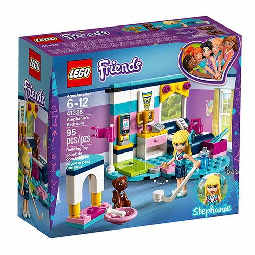 樂高積木 LEGO《 LT41328 》2018年Friends 姊妹淘系列 - 斯蒂芬妮的臥室
