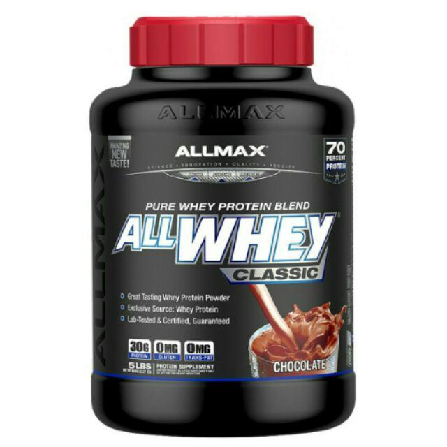 [暑期優惠]加拿大 ALLMAX 乳清蛋白Classic/Glod 五磅 口味可選
