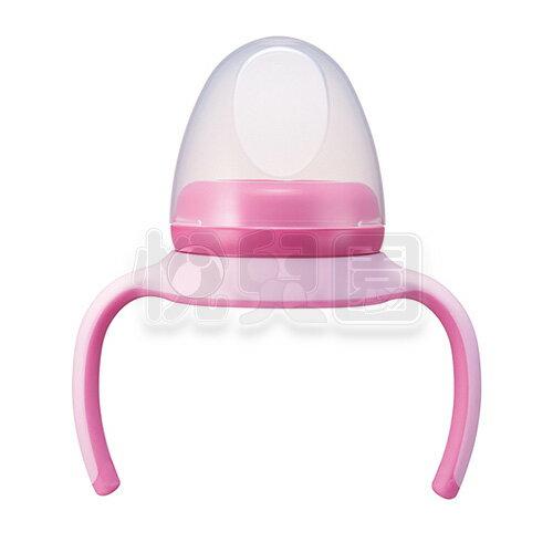 PIGEON 貝親 PPSU奶瓶240ml專用握把栓蓋組-粉【悅兒園婦幼生活館】