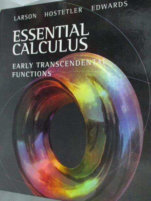 ~書寶 書T1/大學理工醫_ZEC~Essential Calculus_Larson e