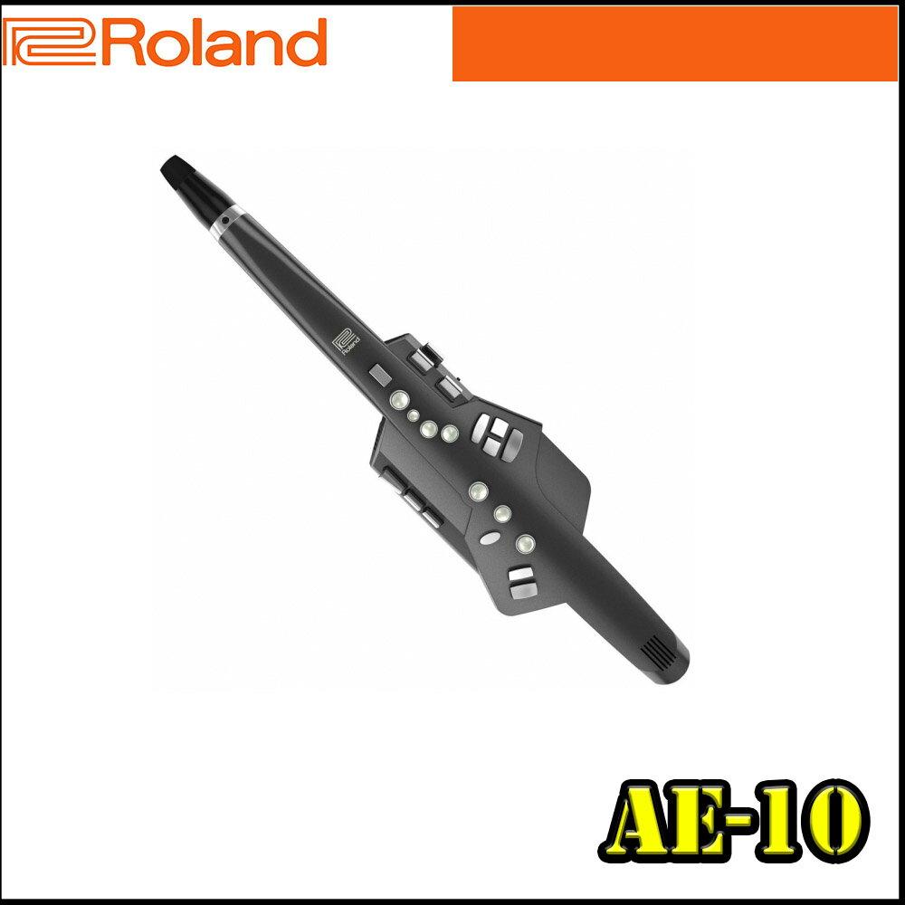 【非凡樂器】Roland Aerophone AE-10 黑色款 可用傳統薩克斯風指法,內建多種音色的全新數位吹管