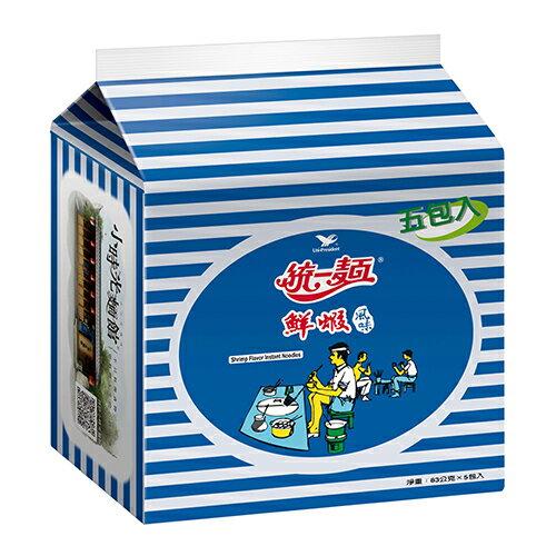 統一麵鮮蝦風味*5入【愛買】
