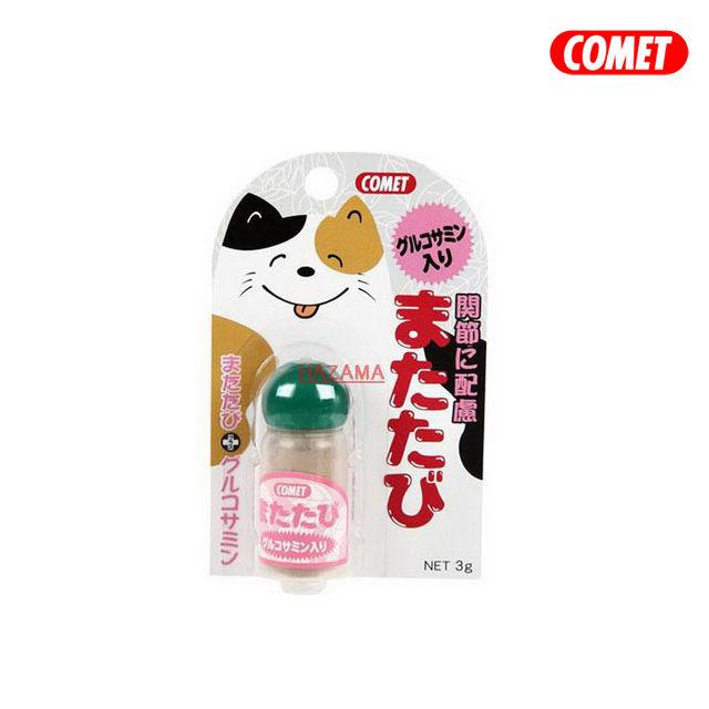 COMET 木天蓼系列 木天蓼粉(關節保健)3g  ~貓咪也瘋狂