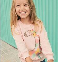 婦嬰用品-童裝推薦童裝 長袖上衣 秋款韓版 印花套頭衛衣 帽T  小童 中大童 男童 女童 88222(好窩生活節)。就在baby童衣婦嬰用品-童裝推薦