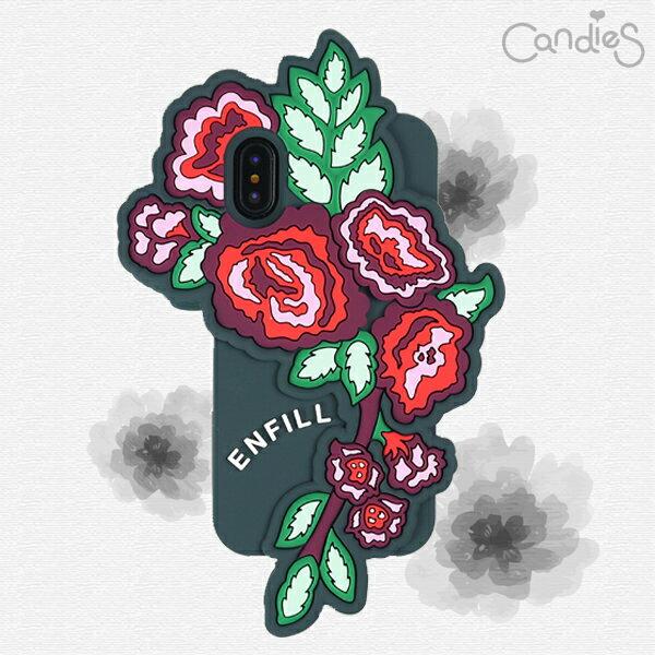 【Candies】ENFILLLoveMeTender(灰)-IPhoneX