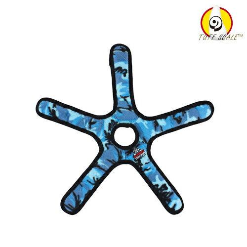 TUFFY*耐咬海星玩具-迷彩藍