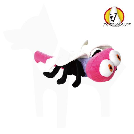 TUFFY*耐咬動物庭院系列-蜻蜓(粉紅色)