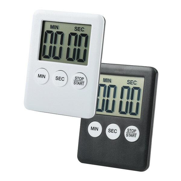 【aife life】輕聲正倒數計時器 磁吸式碼表電子計時器 圖書館鬧鐘廚房料理比賽計時 0