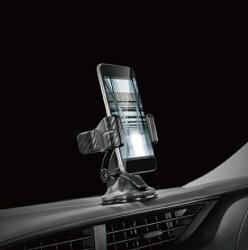 【車寶貝推薦】CARMATE 碳纖調夾式手機架 SA8