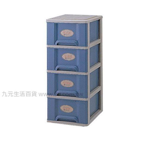 【九元生活百貨】聯府 T40置物櫃(四層附輪) 置物櫃 收納櫃