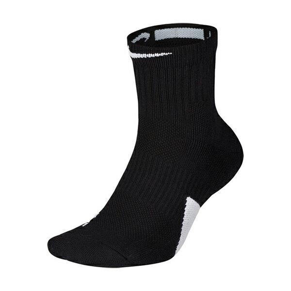 【NIKE】U NK ELITE MID 配件 籃球 中筒 黑 男女 襪子 -SX7625013