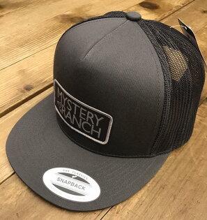 台北山水戶外用品專門店:MysteryRanch神秘農場棒球帽鴨舌帽卡車司機帽Trucker61139灰Grey