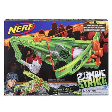 《NERF 樂活打擊》打擊者系列爆發十字弓