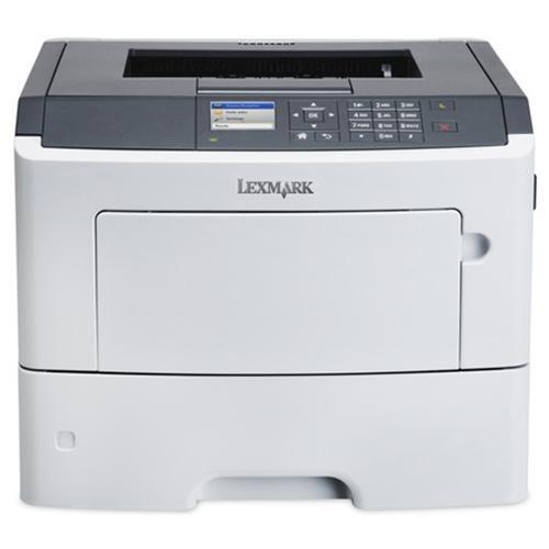 Lexmark MS610DN Laser Printer - Monochrome - 1200 x 1200 dpi Print - Plain Paper Print - Desktop - 50 ppm Mono Print - 650 sheets Standard Input Capacity - 100000 pages per month - Automatic Duplex Print - LCD - Ethernet - USB 0