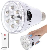 3 in 1 LED Emergency Bulb w/ Remote