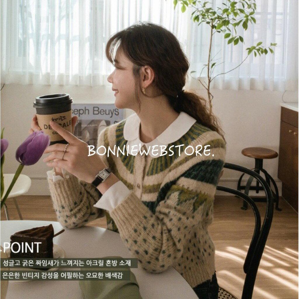 【Bonnie邦尼殿】 韓國同款天絲棉荷葉邊襯衫