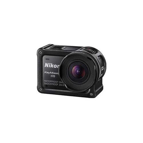 "Nikon KeyMission Digital Camcorder - 1.5"" LCD - RGB CMOS - 4K - Black - 16:9 - H.264/MPEG-4 AVC, MOV - Electronic (IS) - HDMI - USB - microSD, microSDXC, microSDHC - Memory Card 1"