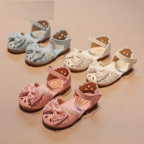 寶寶涼鞋PU皮小童涼鞋娃娃鞋寶寶鞋(13.5-15.5CM)KL789好娃娃