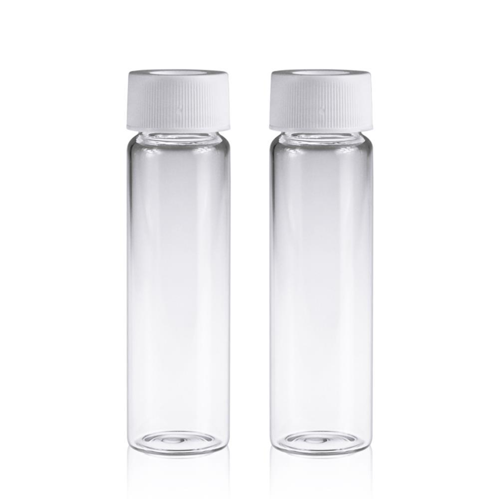 《實驗室耗材專賣》20ml 透明EPA,VOC,TOC瓶 27.5×57mm 100pcs / pk 實驗儀器 玻璃製品 樣品瓶 儲存瓶 0
