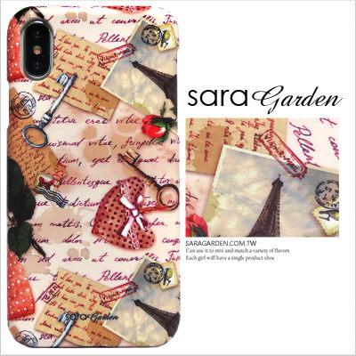 SaraGarden:客製化手機殼iPhoneX8766SPlus55SSEi8i8+i7i7+i6i6si6+i6s+保護殼浪漫信紙明信片