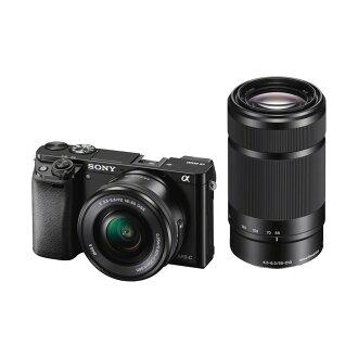 SONY 單眼數位相機(雙鏡組) ILCE-6000Y