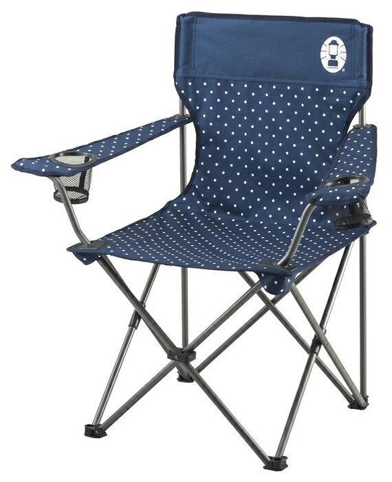 【鄉野情戶外專業】 Coleman |美國| 圓點渡假休閒椅/休閒椅 折疊椅 摺疊椅 野營椅/CM-26736M000