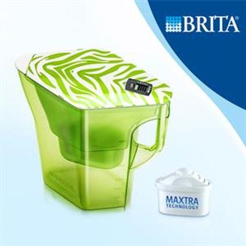 [淨園] 德國BRITA Navelia 2.3L 若薇亞型濾水壺(探險綠)【內含一支濾芯】-壺身配有水量刻度