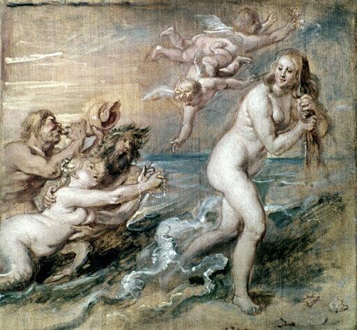 Rubens Venus NThe Birth Of Venus By Peter Paul Rubens Oil Sketch On Wood C1637 Rolled Canvas Art - (18 x 24) bd751f2b816e5a2ce1481438d34fcfbb