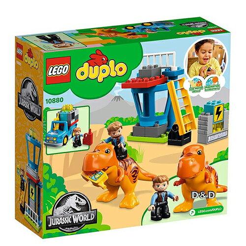 樂高積木LEGO《LT10880》2018年Duplo得寶系列-侏儸紀世界-暴龍塔