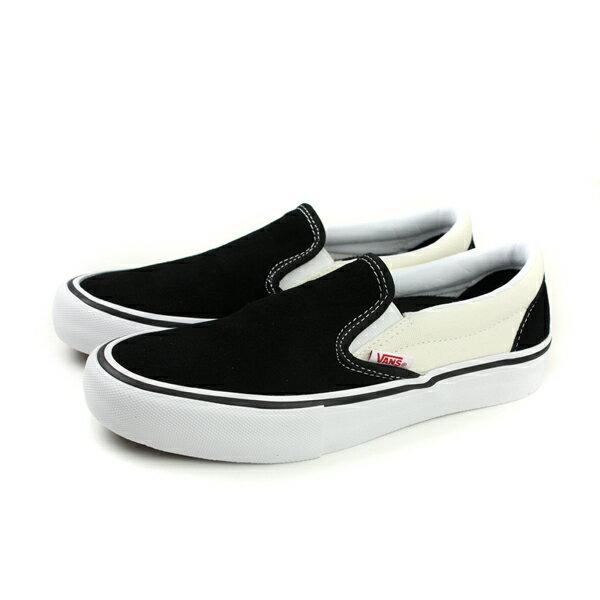 <br/><br/> VANS SLIP-ON PRO Black 帆布鞋 懶人鞋 休閒 麂皮 黑/白 女鞋 73020802 no319<br/><br/><a href=
