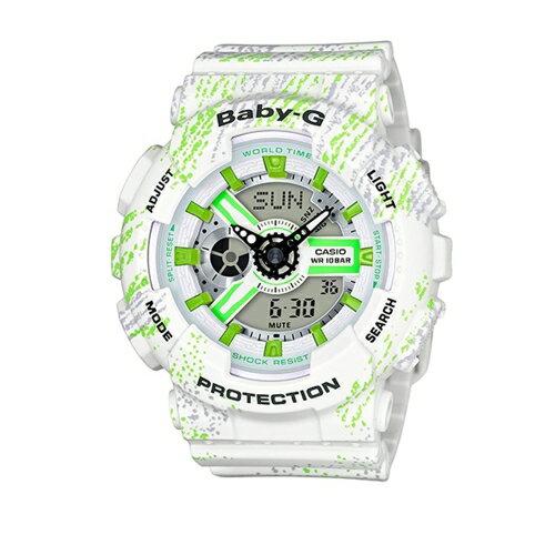 方采鐘錶 CASIO BABY-G/ 前衛風格運動錶/ BA-110TX-7A