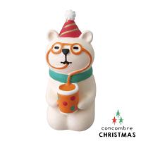 幫家裡聖誕佈置裝飾到【聖誕節限定版】日本擺飾小玩偶 / 公仔 -  Concombre 喝果汁的白熊 ( ZXS-48178 ) 聖誕佈置裝飾推薦