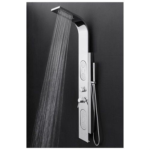 AKDY Stainless Steel Shower Panel Rain Style Massage System AK-9872B 0