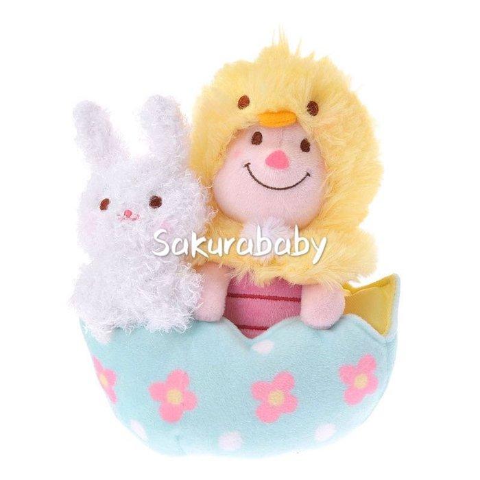 迪士尼 小熊維尼好友小豬玩偶 絨毛娃娃 可愛擺飾 生日禮物 情人節禮物 _櫻花寶寶