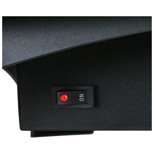 "27"" Electric Fireplace Heat Tempered Glass Freestanding Logs Insert Adjustable 5200 BTU AKFP0031 3"